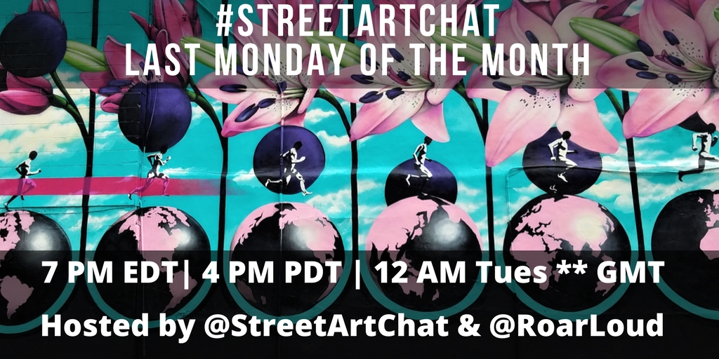 Twitter Chat - Street Art Chat